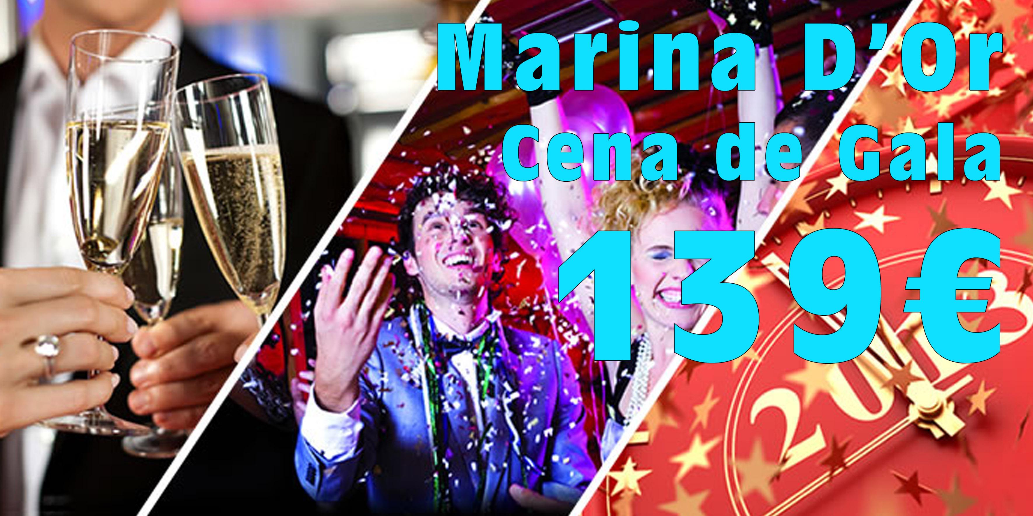 Cena Nochevieja Marina d'Or 3***