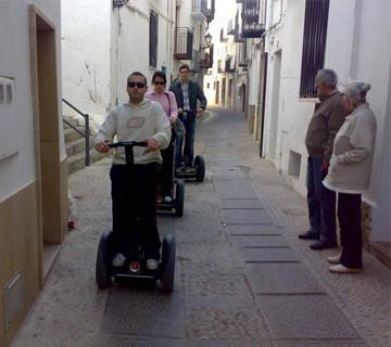 Segway tour casco antiguo Peñiscola Foto 2