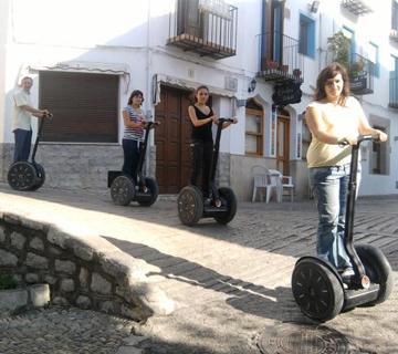 Segway tour casco antiguo Peñiscola Foto 4