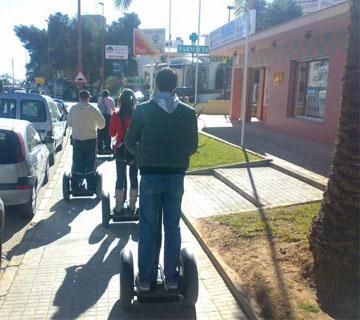 Segway tour urbano Peñiscola Foto 4